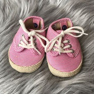 First Steps Baby Girl Sneaker Booties 3-6 Months